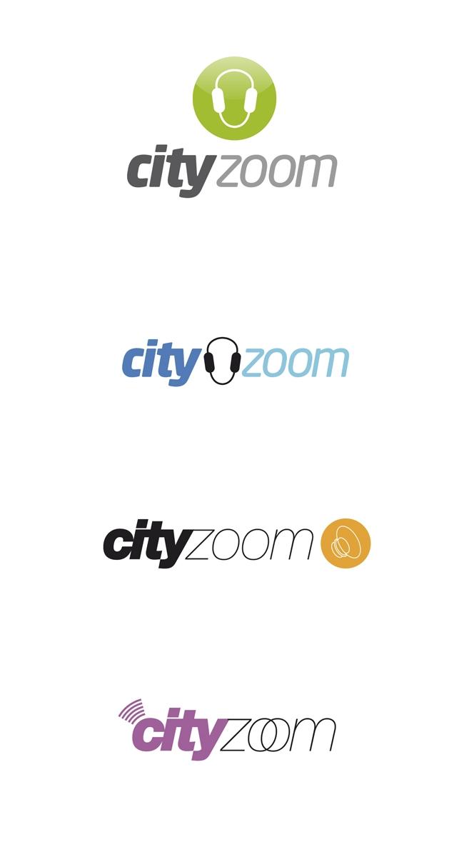 Projekt: Cityzoom - Návrhy na logo