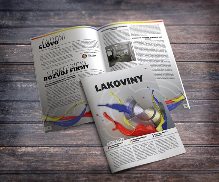 Projekt: Firemní časopis Lakovny Hajdík