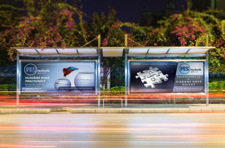 Projekt: Sada billboardů pro MS Technik