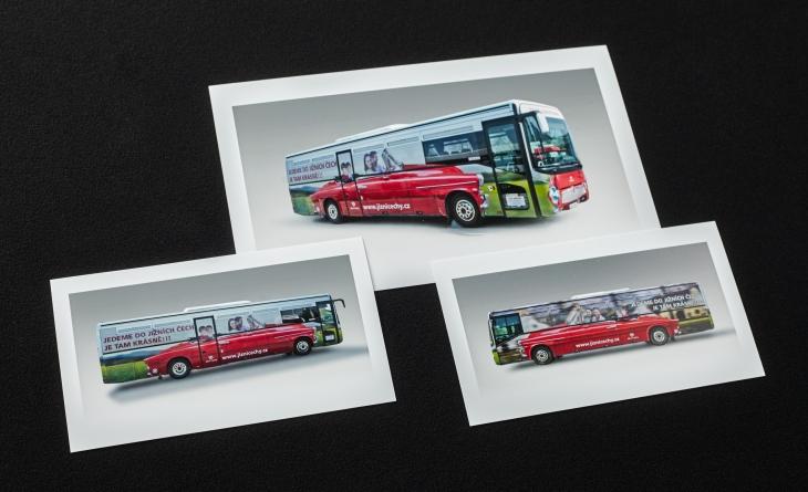 Projekt: Autobus Jižní Čechy