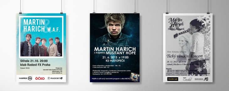 Projekt: Plakáty Martin Harich
