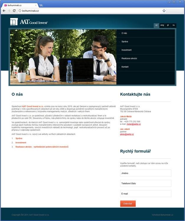 Projekt: AAT good invest