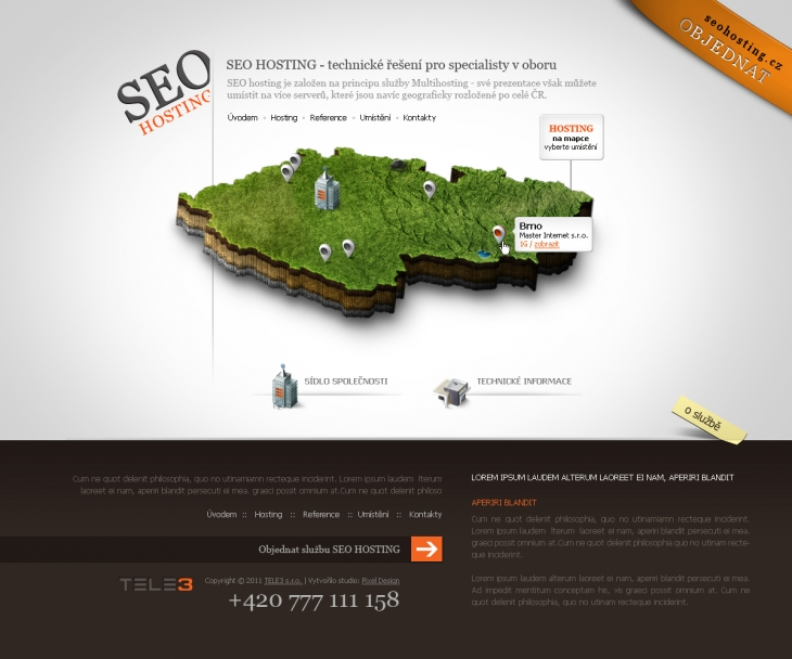 Projekt: Seo Hosting