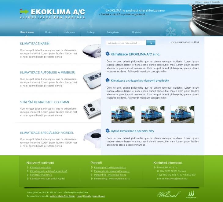 Projekt: Ekoklima A/C s.r.o