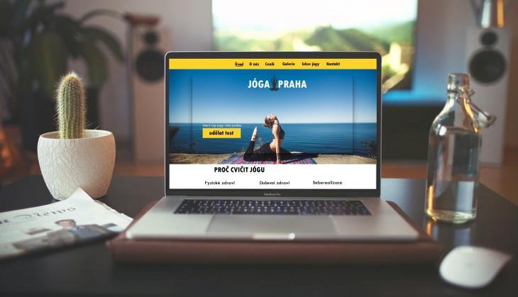 Projekt: yoga website