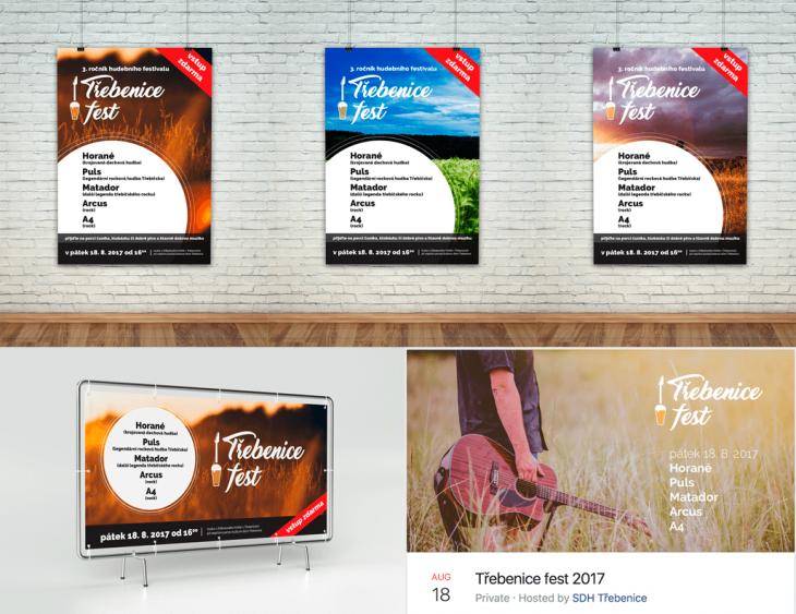 Projekt: Třebenice fest 2017
