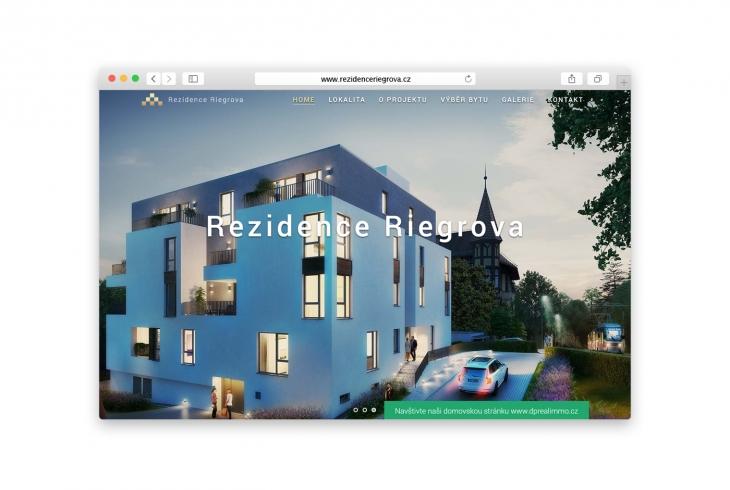 Projekt: Rezidence Riegrova