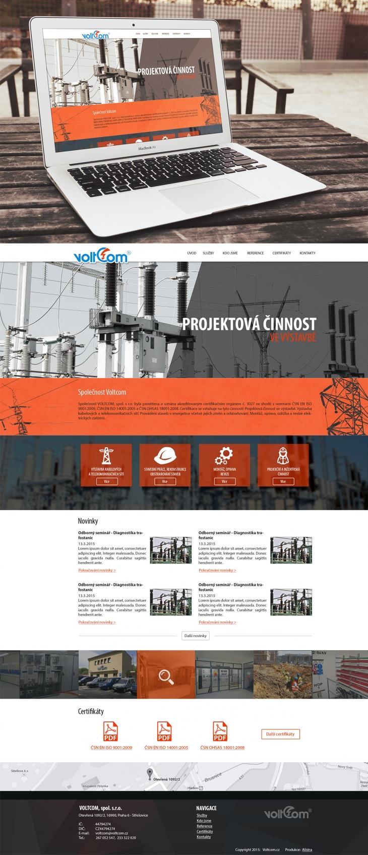 Projekt: Voltcom
