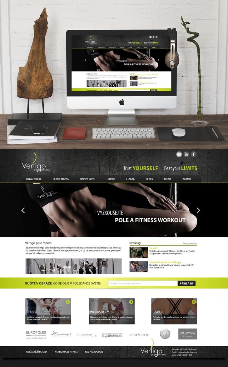 Projekt: Vertigo fitness