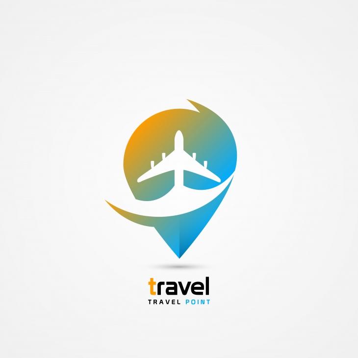 Projekt: Travel point logo