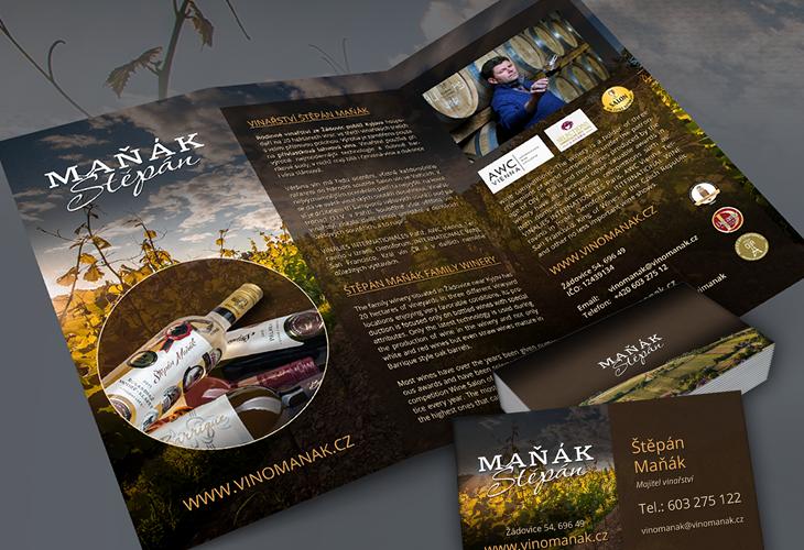 Projekt: Vinařství Štěpán Maňák