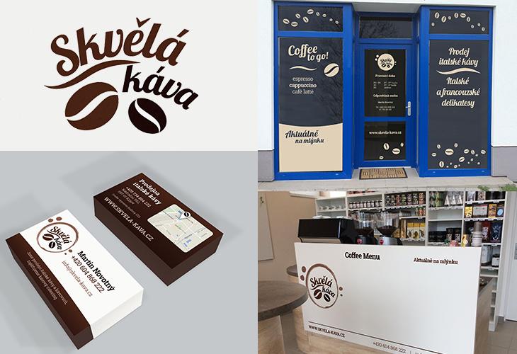 Projekt: Skvělá káva