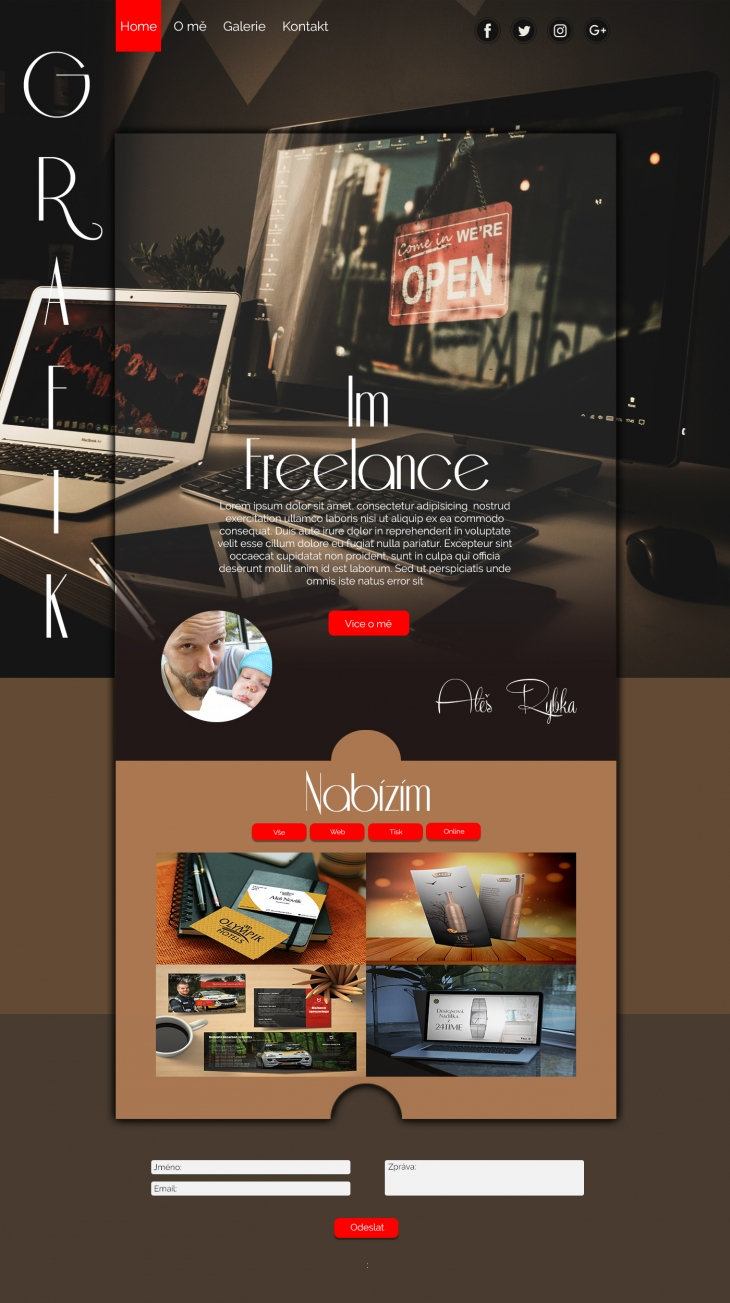 Projekt: web