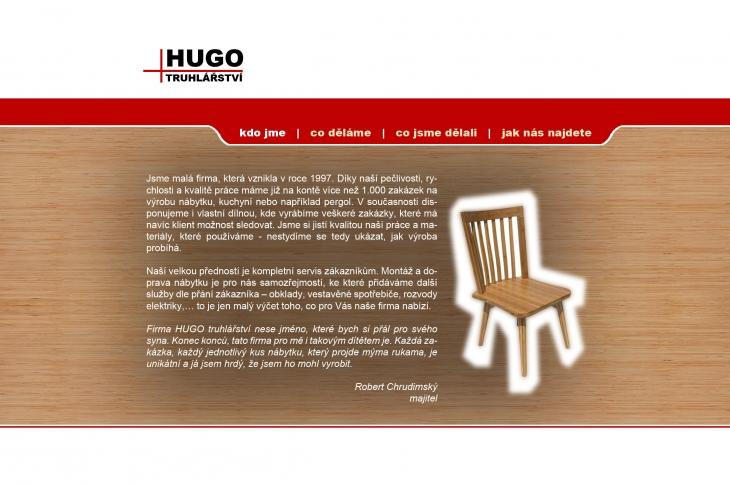 Projekt: Hugo Truhlarstvi