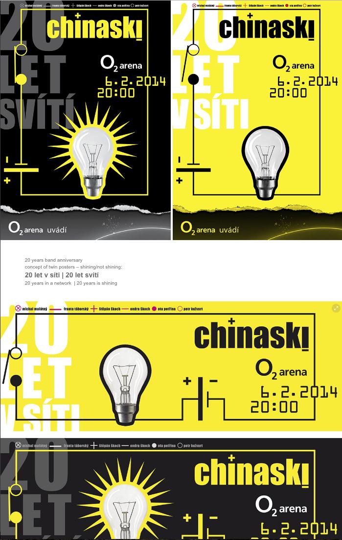 Projekt: chinaski 20 let tour