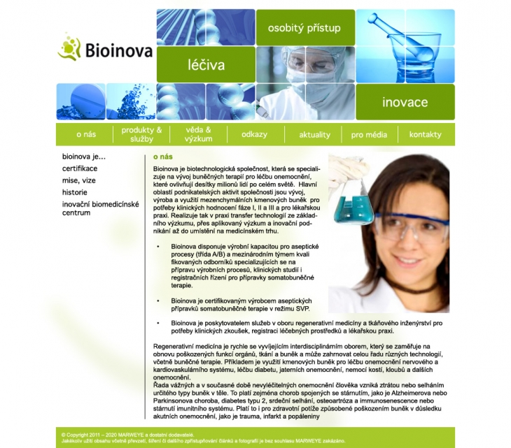 Projekt: Bionova