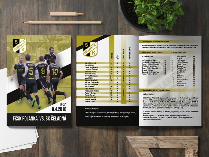 Projekt: Fotbalový bulletin