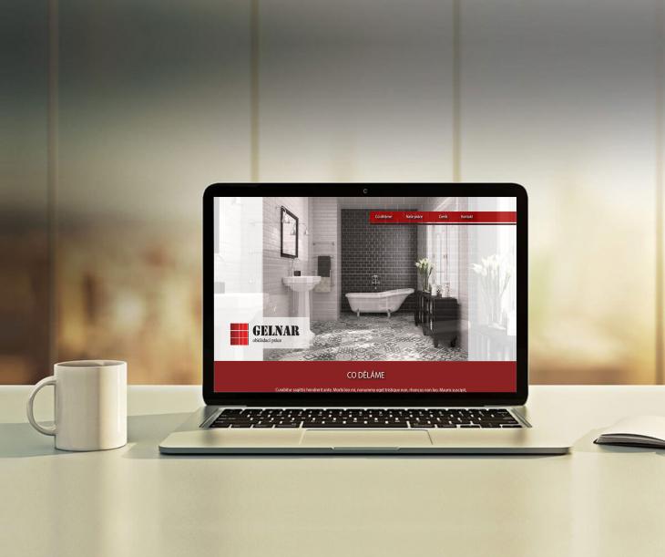 Projekt: Web a logo Gelnar