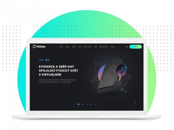 Projekt: TAGlobe web