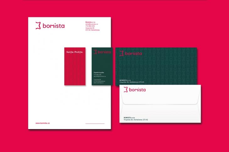 Projekt: Bomista branding