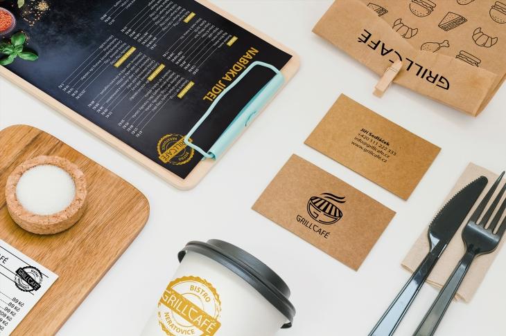 Projekt: Grill Café branding