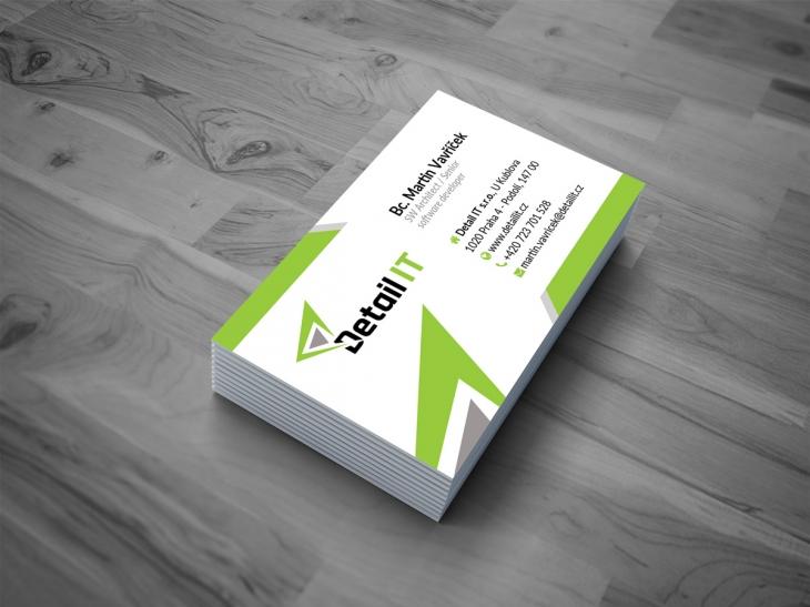 Projekt: Grafický návrh logo - firma DETAILIT