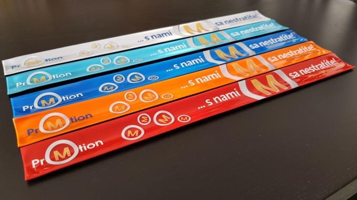 Projekt: Grafický návrh logo a reflexní pásky - firma MPROM