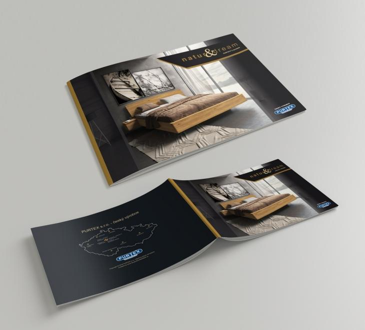 Projekt: Grafický návrh katalogu - firma PURTEX
