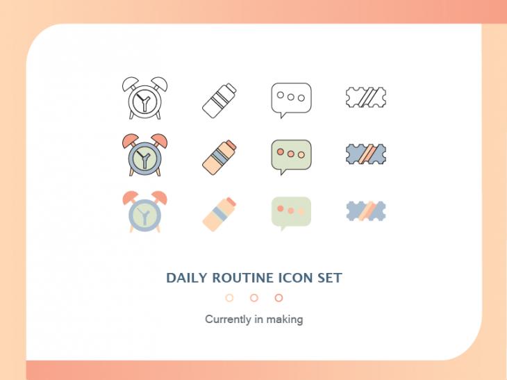 Projekt: Set ikonek