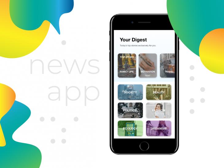 Projekt: Mobilní aplikace - Zprávy