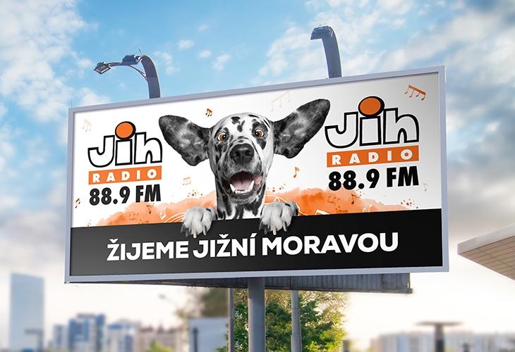 Projekt: Rádio Jih Billboard