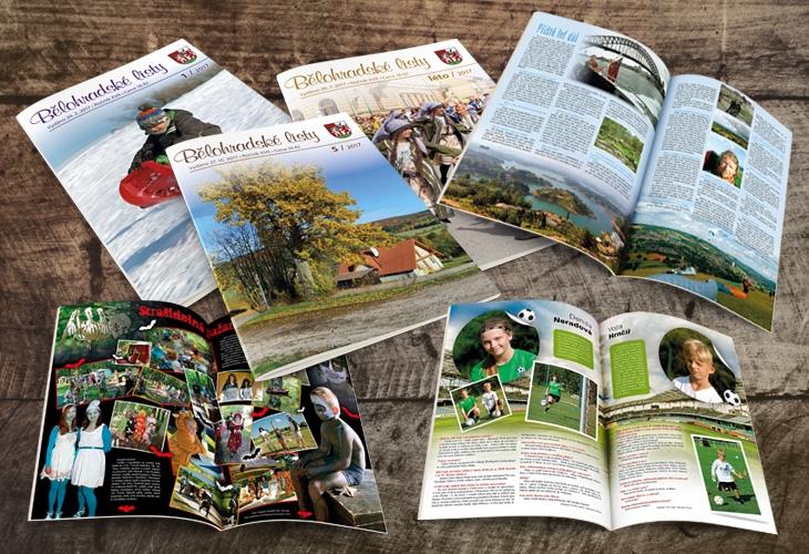 Projekt: Časopis Bělohradské listy
