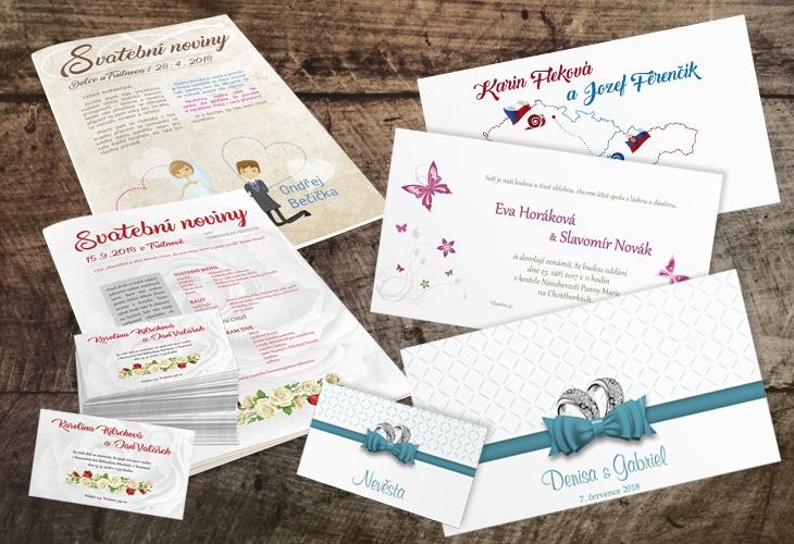 Projekt: Svatební materiály