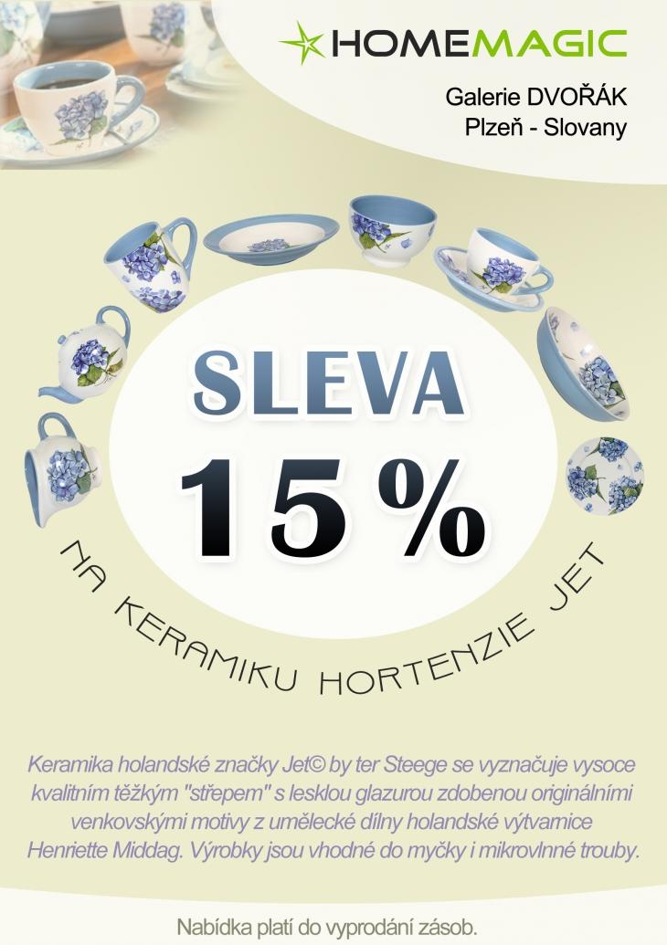 Projekt: Leták - Hortenzia