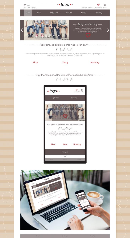 Projekt: Návrh pro E-shop
