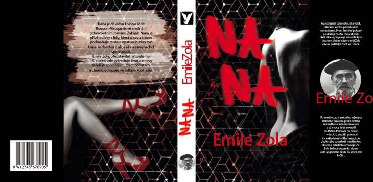 Projekt: Přebal knihy Emile Zola