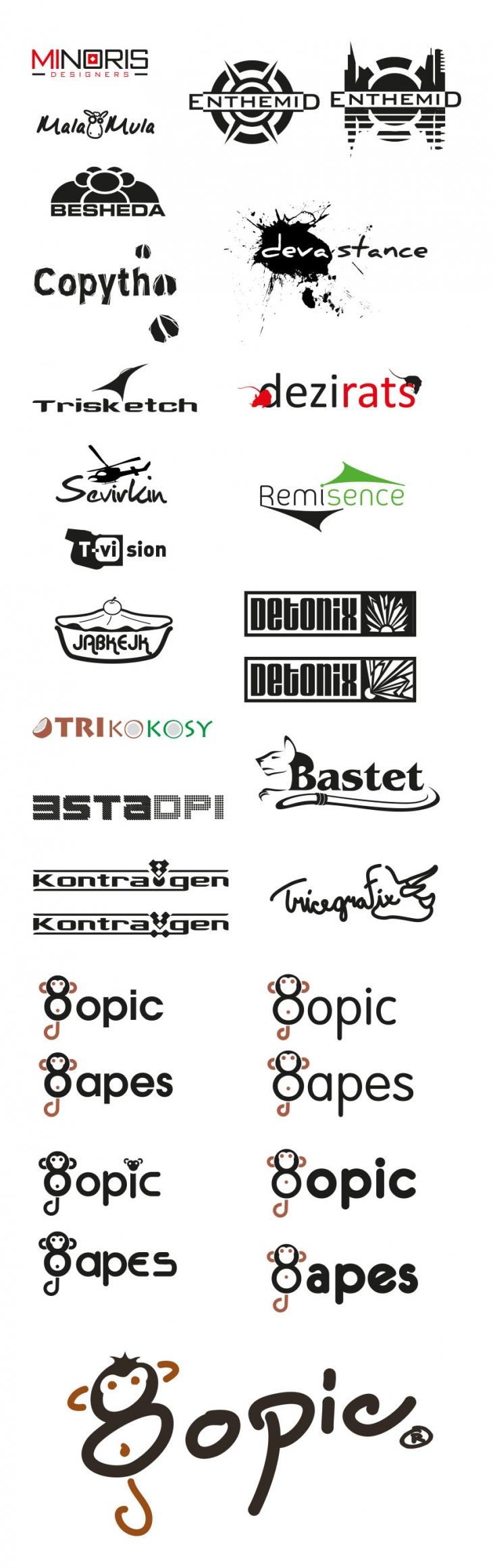 Projekt: Logo vlastní textilní značky