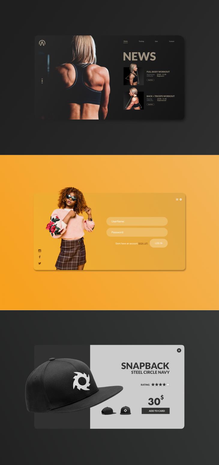 Projekt: UI Design