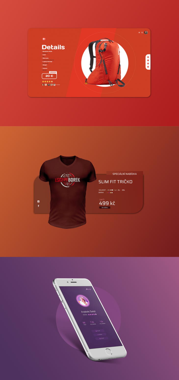 Projekt: UI Design | Web Design