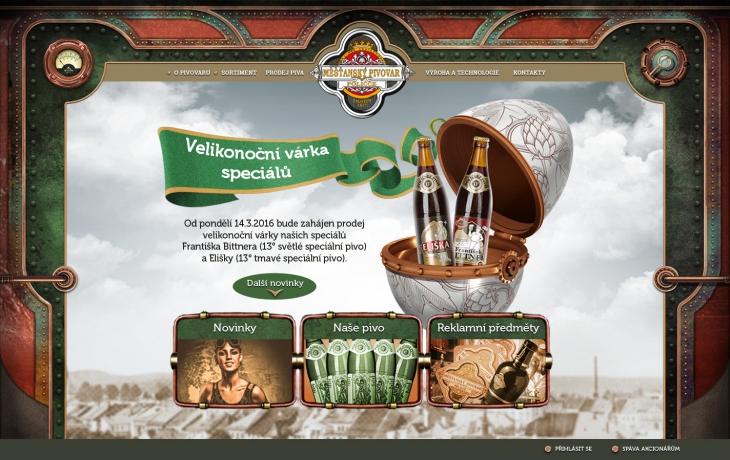 Projekt: Pivovar Polička