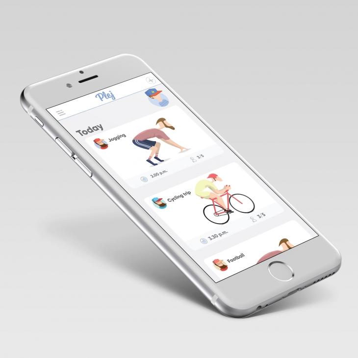 Projekt: Plej-mobilní aplikace