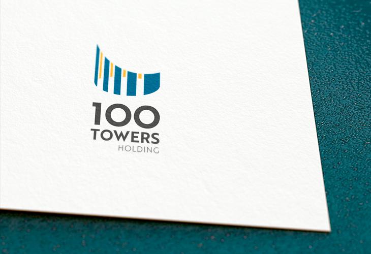 Projekt: Logo 100 TOWERS HOLDING