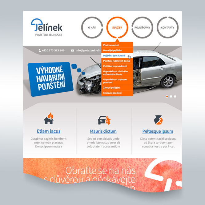 Projekt: Webdesign 03