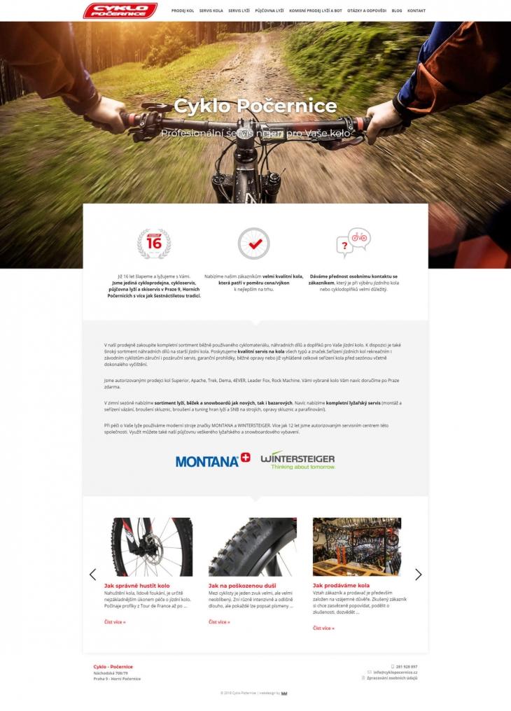 Projekt: Cyklo Počernice
