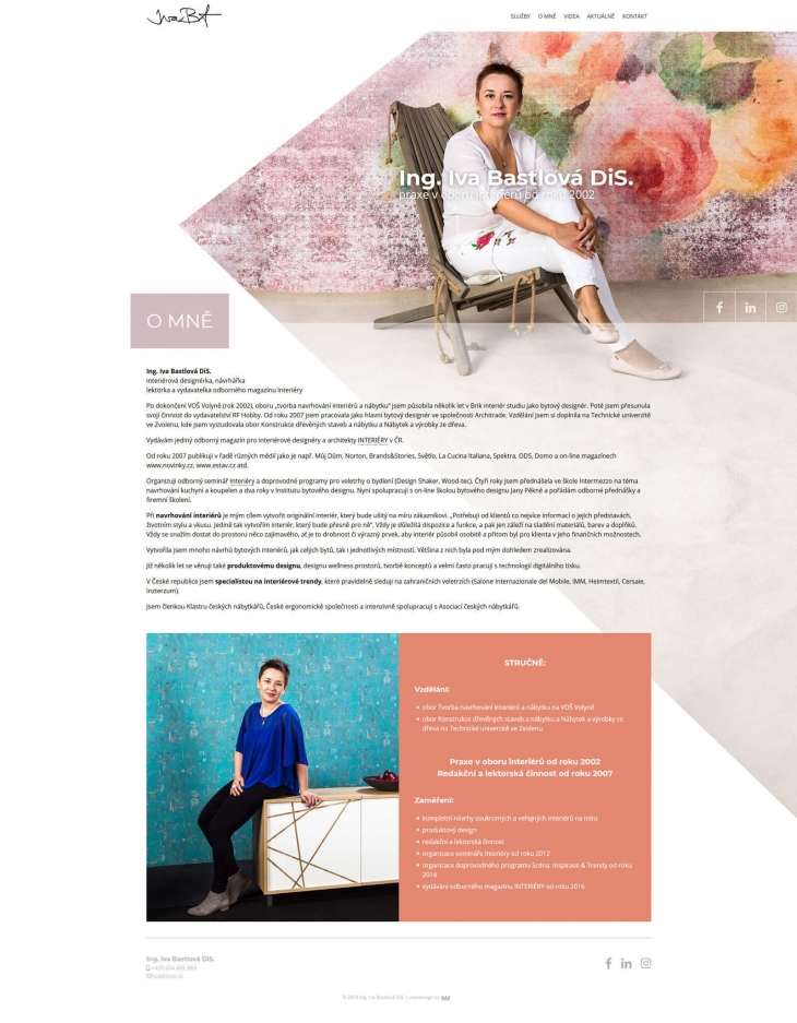 Projekt: Iva Bastlová