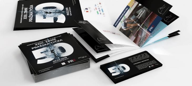 Projekt: Design tiskovin PRAŽSKÁ TYČKA