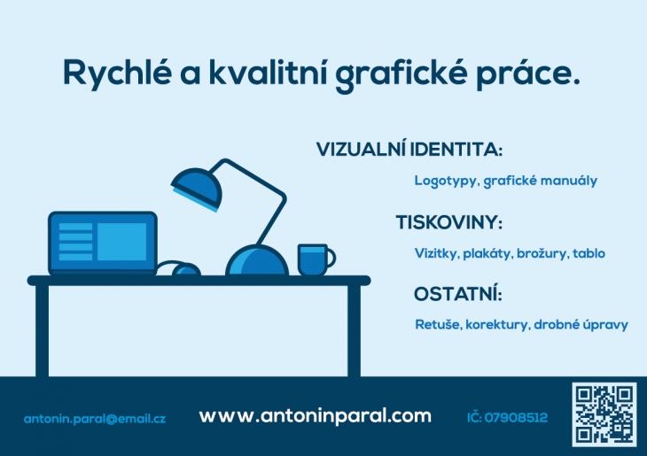 Projekt: Plakát Antonín Páral: Grafika | Grafický design
