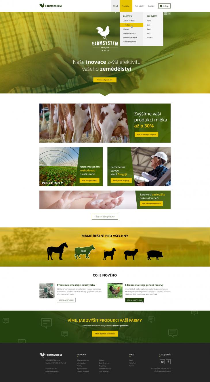 Projekt: Farmsystem