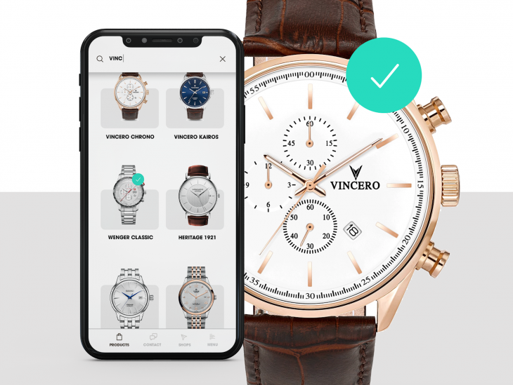 Projekt: Watch store