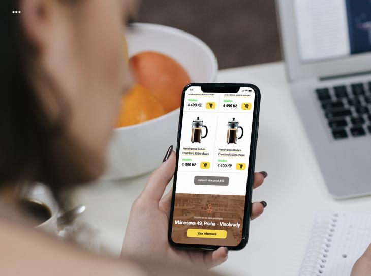 Projekt: E-shop Gourmetkava